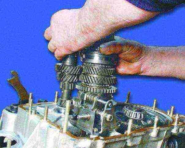 Ваз 2108 ремонт коробки передач своими руками видео